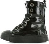 Shoesme BOOTS Meisjes Biker boot - Zwart Lak - Maat 31