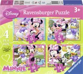 Ravensburger Disney Minnie Mouse 4-in-1 puzzelbox