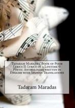 Tadaram Maradas' Book of Poem Lyrics II