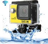 SJCAM SJ4000 WiFi Full HD 1080P 12MP duiken fiets Camera 30m waterdicht Car DVR actiesporten DV met waterdichte Case(Yellow)