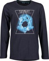 Blue Seven Jongens T-Shirt - Donker Blauw - Maat 152
