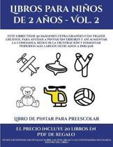 Libro De Pintar Para Preescolar (Libros Para Ninos De 2 Anos - Vol. 2)