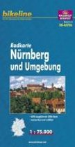 Nurnberg and surroundings Cycle Map