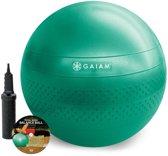 Gaiam Fitnessbal - Inclusief DVD - Medium - Ø 65 cm - Groen