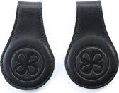 Cloby magneetclips set van 2 zwart