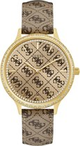 GUESS Watches W1229L2 Roestvrij staal Goudkleurig