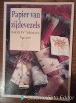 Papier van zijdevezels