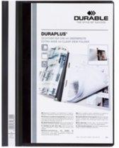 Durable personaliseerbare snelhechtmap Duraplus grijs