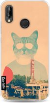 Casetastic Softcover Huawei P20 Lite - Cool Cat