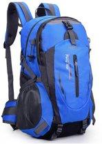 Compacte Wandelrugzak/Wandeltas Backpack voor Dames en Heren - Alternatief North Face - Lovnix TanXian Bag106 | Zwart/Blauw