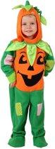 Oranje en groene Pompoenen pak Voor Halloween - Kinderkostuums - 86/92