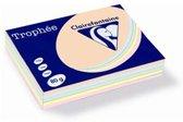 Clairefontaine Trophée - Kopieerpapier- A4 80 gram - Assorti pastelkleuren - 100 vellen
