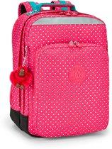 Kipling College Up - Laptoprugzak - Pink Summer Pop