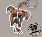 Sleutelhanger Hond Boxer