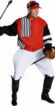 Jockey kostuum voor heren - maat M - Paardenrace verkleedkleding