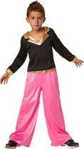 dressforfun 302383 Disco Dancer voor kinderen 128 (7-8 jaar) verkleedkleding kostuum halloween verkleden feestkleding carnavalskleding carnaval feestkledij partykleding