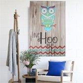 Unframed Canvas Print Home Decor Love Hoo Uil Muur Art Painting Decoratie