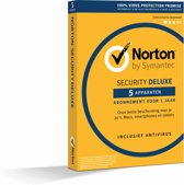 Norton Security Deluxe 3.0 - Nederlands / Frans / 5 Apparaten / 1 Jaar / Windows / Mac / iOS / Android