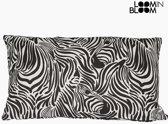 Kussen Zebra (50 x 70 cm) - Jungle Collectie by Loom In Bloom