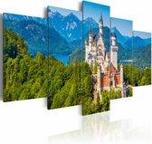 Schilderij - Neuschwanstein Castle