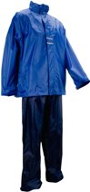 Ralka Regenpak - Volwassenen - Unisex - Maat XL - Blauw/Zwart