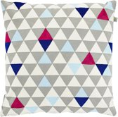 Dutch Decor Kussenhoes Omega 45x45 cm blauw