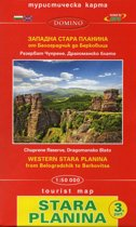 Wandelkaart 03 Stara Planina gebergte - Bulgarije
