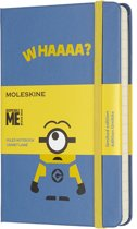 Moleskine notitieboek Minions - Limited Edition - Pocket - Blauw - Gelinieerd
