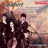 Schubert: String Quartets nos 8, 9 & 10 / Sorrel Quartet