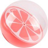 Sundaze - Strandbal Sinaasappel - Oranje bal - Half doorzichtig - Ø 30 Cm