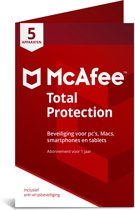 McAfee Total Protection - Multi-Device - 5 Apparat