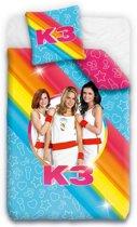 K3 - Dekbedovertrek - Junior - 120x150 cm + 1 kussensloop 60x70 cm - Multi kleur