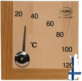 Saunia - sauna thermometer - berkenhout