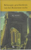 Overige publicaties - Beknopte geschiedenis van het Romeinse recht