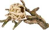 Nobby aqua deco houten nest 33,5 x 19 x 19 cm - 1 ST