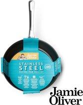 Jamie Oliver - Mid Tier Frying Pan 28cm RVS