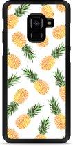 Galaxy A8 2018 Hardcase Hoesje Ananas