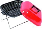 Hamburger Houtskoolbarbecue - Vierkant - Rood