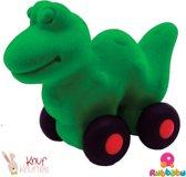 Rubbabu - Micro Aniwheelie Dinosaur (Green)