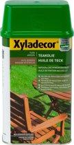 Xyladecor Teakolie Waterproof - Afwerkingsolie - Transparant - 1L
