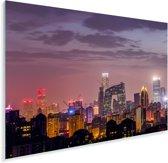Uitzicht over Beijing Plexiglas 30x20 cm - klein - Foto print op Glas (Plexiglas wanddecoratie)