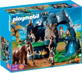 Playmobil Grot Met Mammoet - 5100