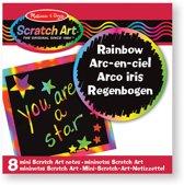 Melissa & Doug - Rainbow Mini Scratch Art Notes (in Display)