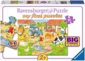 Ravensburger Boerderijdieren - Vloerpuzzel - 16 Stukjes