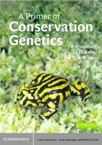 Omslag van 'A Primer of Conservation Genetics'
