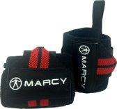 Marcy Wrist Wraps - Rood - 2 stuks