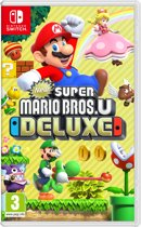 Cover van de game New Super Mario Bros. U Deluxe Nintendo Switch