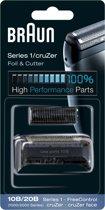 Braun 10B/20B Series 1/Cruzer Folie en Messenblok - Vervangend Scheerblad