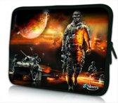 Sleevy 14 laptophoes oorlog - laptop sleeve