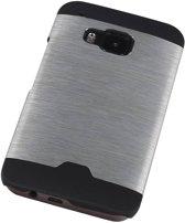 HTC One M9 Zilver | Lichte Aluminium Hardcase  | WN™